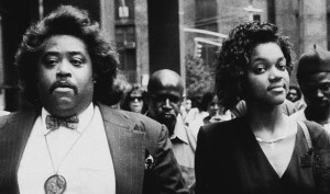 Big Al with Tawana Brawley