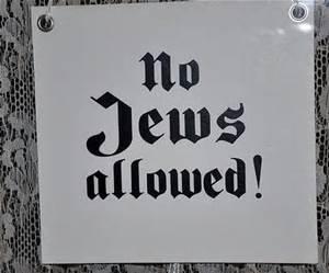 no Jews